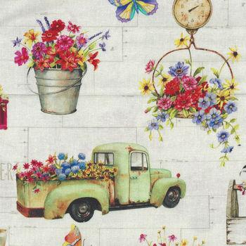 Fresh Country for PandB Textiles 00209 Multi Digital