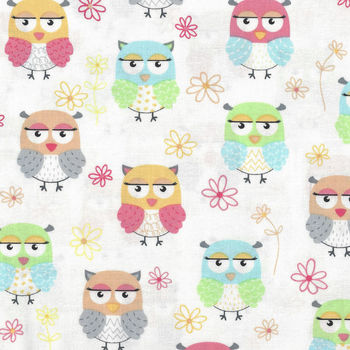 Friendship Owls from Benartex C8949 8030 color 909
