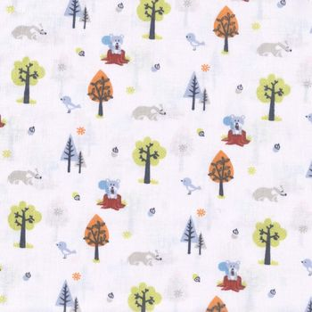 Furry Friends by Adlico Textiles Fabric