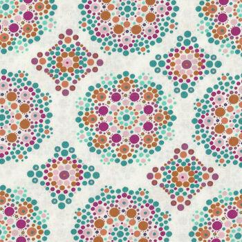 Fusion Marrakesh from Art Gallery Fabrics FUSM2004 Mandala Drops