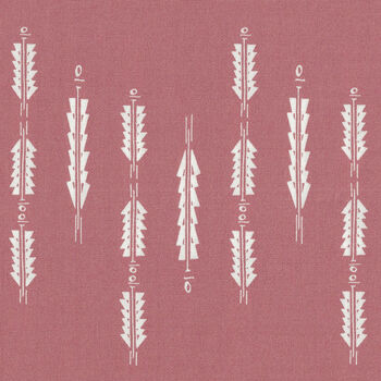 Fusion Rosewood from Art Gallery Fabrics FUSRW1902 Aura Fletchings