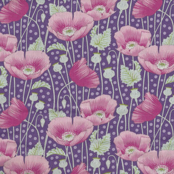 Gardenlife by Tilda Poppies Lilac 100406