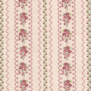 Gentle Garden Flannel Fabric by Henry Glass and Co Pattern F828535