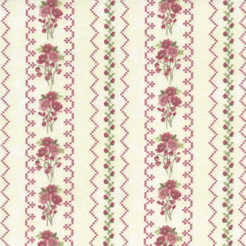 Gentle Garden Flannel Fabric by Henry Glass and Co Pattern F828540