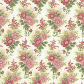 Gentle Garden Flannel Fabric by Henry Glass and Co Pattern F828940
