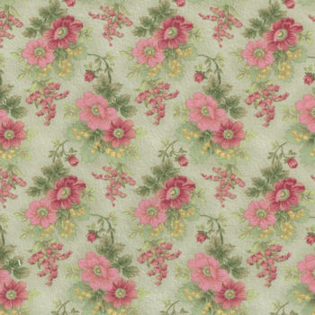 Gentle Garden Flannel Fabric by Henry Glass and Co Pattern F828963