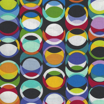 Geotopia By Colour Principle For Henry Glass Fabrics Pattern 2385 Colour 99 Multi