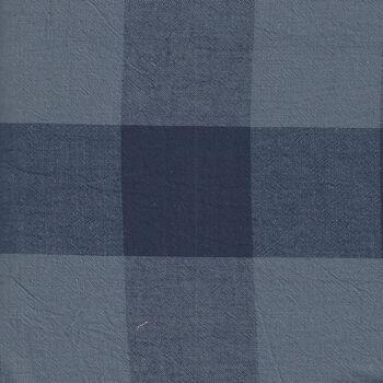 Good Taste from Cosmo Textiles Japan AY7707 2 Buffalo Check Color 4B Navy