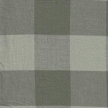 Good Taste from Cosmo Textiles Japan AY7707 2 Buffalo Check Color 4C Grey Green