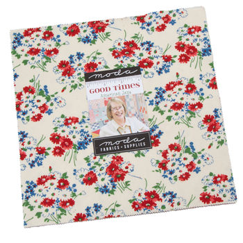 Good Times Layer Cake by American Jane Precut 42 10inch Squares for Moda 21770LC