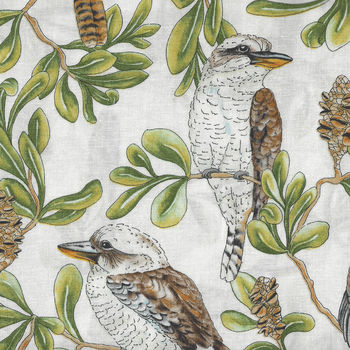 Gumtree Friends Australian Fabric Kookaburra 7118D