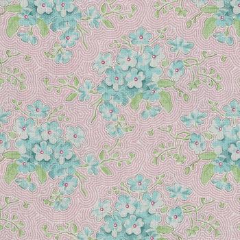 Happy Campers from Tilda Fabrics 10024 Primrose Pink