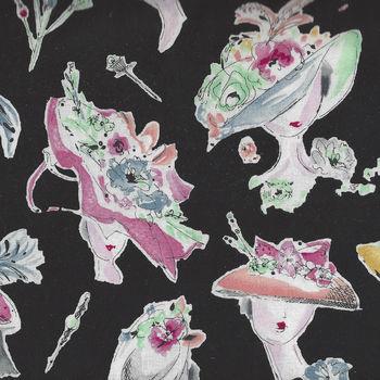 Hats On From Michael Miller Fabrics Makingitfun DC8352BLACD