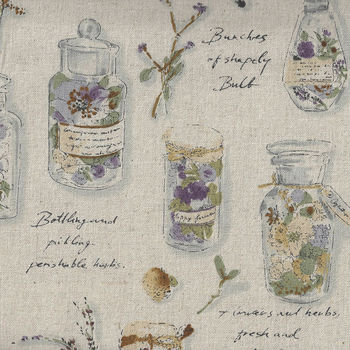 Herbarium Collection by Lecien CottonLinen 40988 Colour 10 Natural