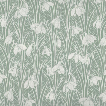 Hesketh By Liberty London 44 Cotton 04775656X GreenWhite