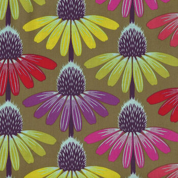 Hindsight By Anna Maria Horner For FreeSpirit Fabrics Echinacea Glow PWAH149Autumn
