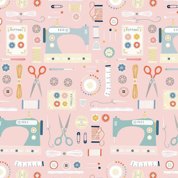 Hobbies by Sally Payne For Dashwood Studios 17451 Sewing