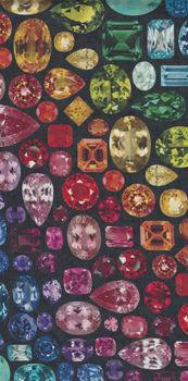 Hoffman +quotShine On+quot Digital Spectrum Fabric HQ4429 657 Jewels