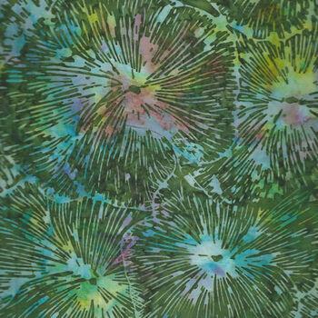 Hoffman Batik Cotton Fabric HS2316 553 ColRainforest