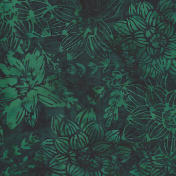 Hoffman Batik Cotton Fabric HS2329 702 Col Deep Emer