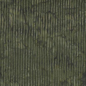 Hoffman Batik Skinny Stripes Bali Chops HR2284 col 096 Olive