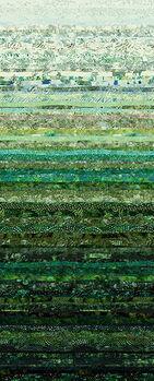 Hoffman Waves Digital Spectrum Print HS4831 060 Hunter