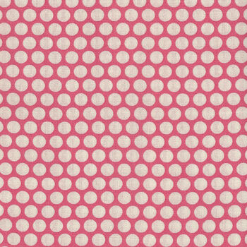 Honeycomb by Kei Fabrics Spots KF0319 Color 101 Pink