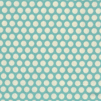 Honeycomb by Kei Fabrics Spots KF0319 Color 103 Duckegg Blue