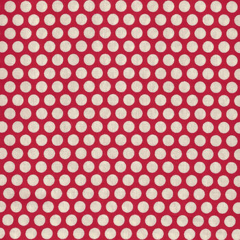 Honeycomb by Kei Fabrics Spots KF0319 Color 108 Red