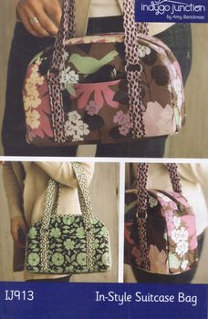 Instyle Suitcase Bag Pattern from Indygo Junction