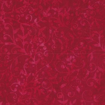Island Batik Cotton Fabric 121913380 Col Cardinal Season