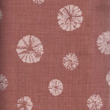 JAPANESE TEXTURED TERRACOTTA FABRIC