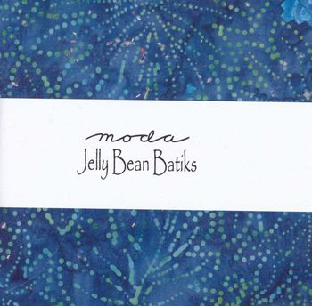 JELLY BEAN BATIKS PRE CUTS BY MODA