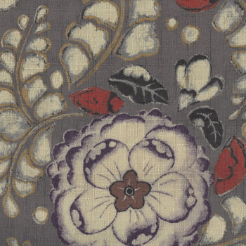 Japanese CottonLinen Blend Fabric KTS6565 Colour E Cool Taupe