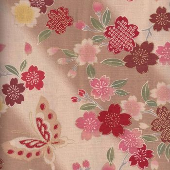 Japanese Cotton Quilting Fabric andquotBlossomandquot