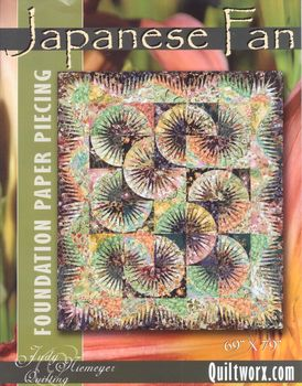Japanese Fan from Judy Neimeyer at Quiltworx