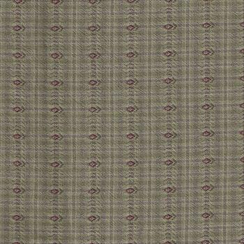 Japanese Woven Cotton GY802255 Color E Green by Yoko Saito
