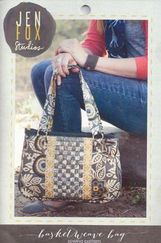 Jen Fox Studios Basketweave Bag Pattern