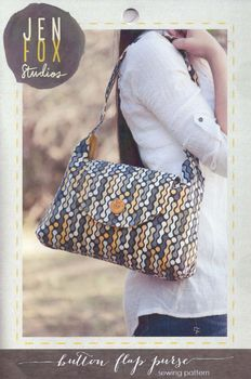 Jen Fox Studios Button Flap Purse Pattern