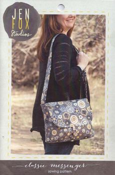 Jen Fox Studios Classic Messenger Bag Pattern