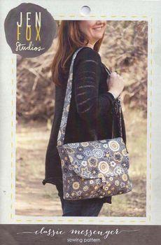 Jen Fox Studios Classic Messenger Bag Pattern