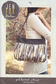 Jen Fox Studios Gathered Sling Bag Pattern