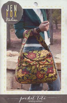 Jen Fox Studios Pocket Tote Bag Pattern