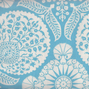 Joel Dewberry Flora Cotton Fabric Pattern Bazzar PWJD102 Eucal
