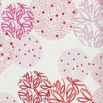 Just Red by Zen Chic for Moda Fabrics M170011 WhiteRedPink