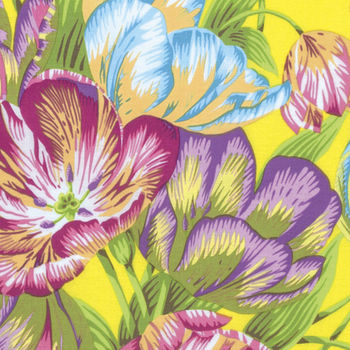 Kaffe Fassett Collective Phillip Jacobs Tulip Extravaganza JO89 Yellow