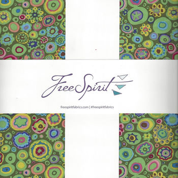 Kaffe Fassett Collective for Free Spirit 10andquot Charm Pack FB610GPISLAN