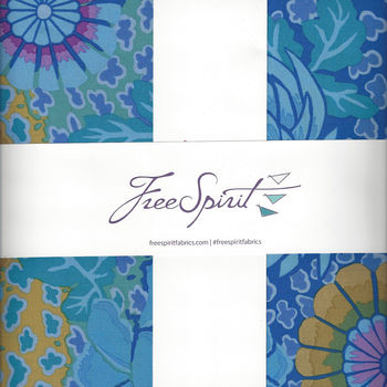 Kaffe Fassett Collective for Free Spirit 10andquot Charm Pack FB610GPPEACO