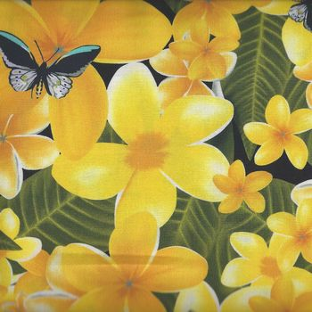 Kennard and Kennard Digital FRANGIPANIS Design 6106 Yellow