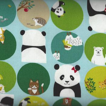 Kokka Fabric LGA11010 2A25 Panda